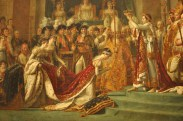 Detail from The Consecration of the Emperor Napoleon and the Coronation of Empress Joséphine on December 2, 1804 (1806-07), Jacques-Louis David