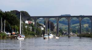 Pearl Fisher at Calstock Boatyard-Pip Shell