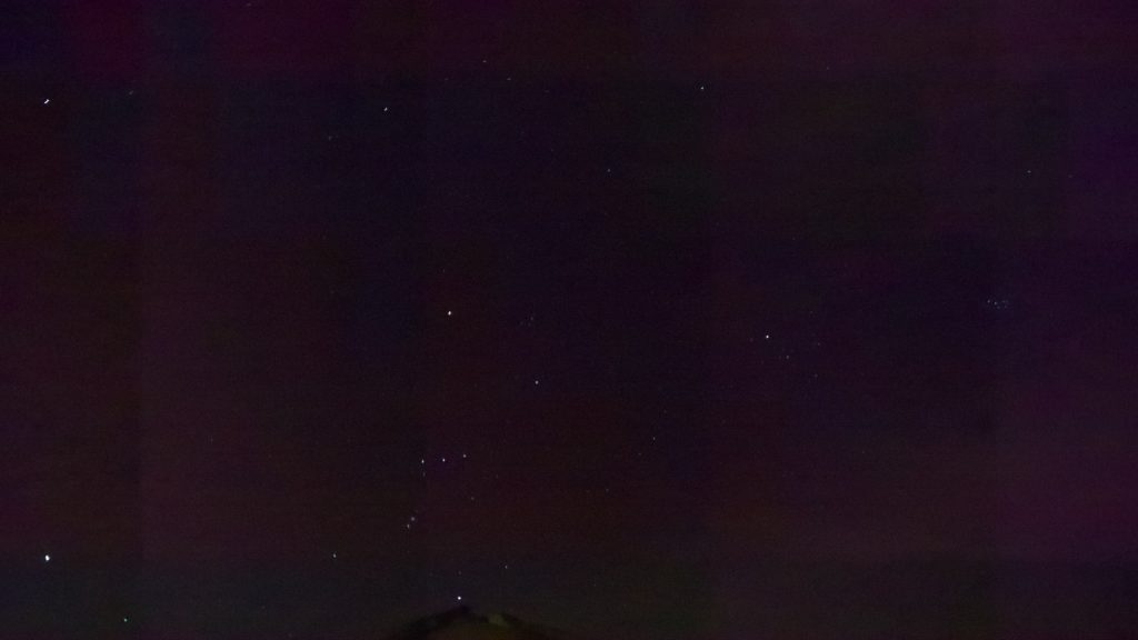 sky night stars orion constellation meteor watching orionids