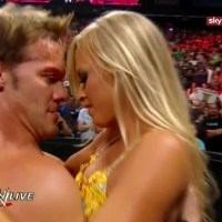 """Cattie's Catch Up: Chris Jericho """"Trolls"""" Summer Rae Following a Tag Team Match (May, 20th 2013)"""