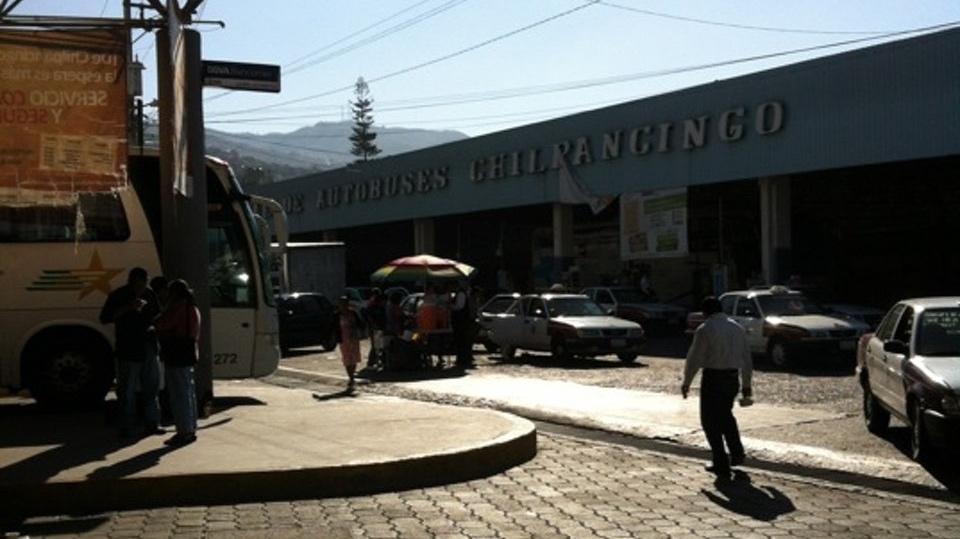 Publicidad en Terminal de Autobuses Chilpancingo