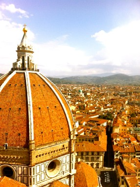 From the top of the Duomo