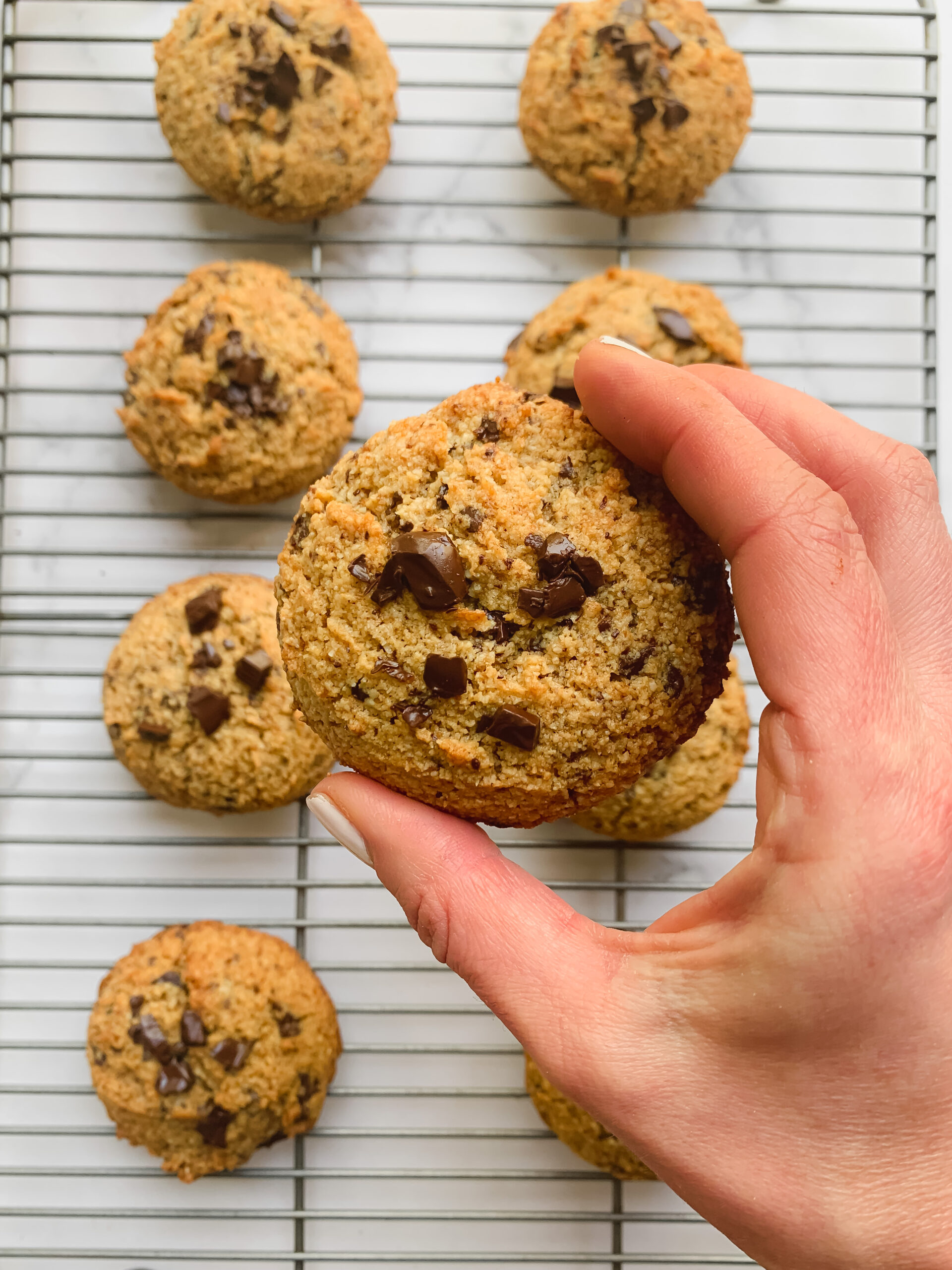 The Ultimate Grain-Free Chocolate Chip Cookies