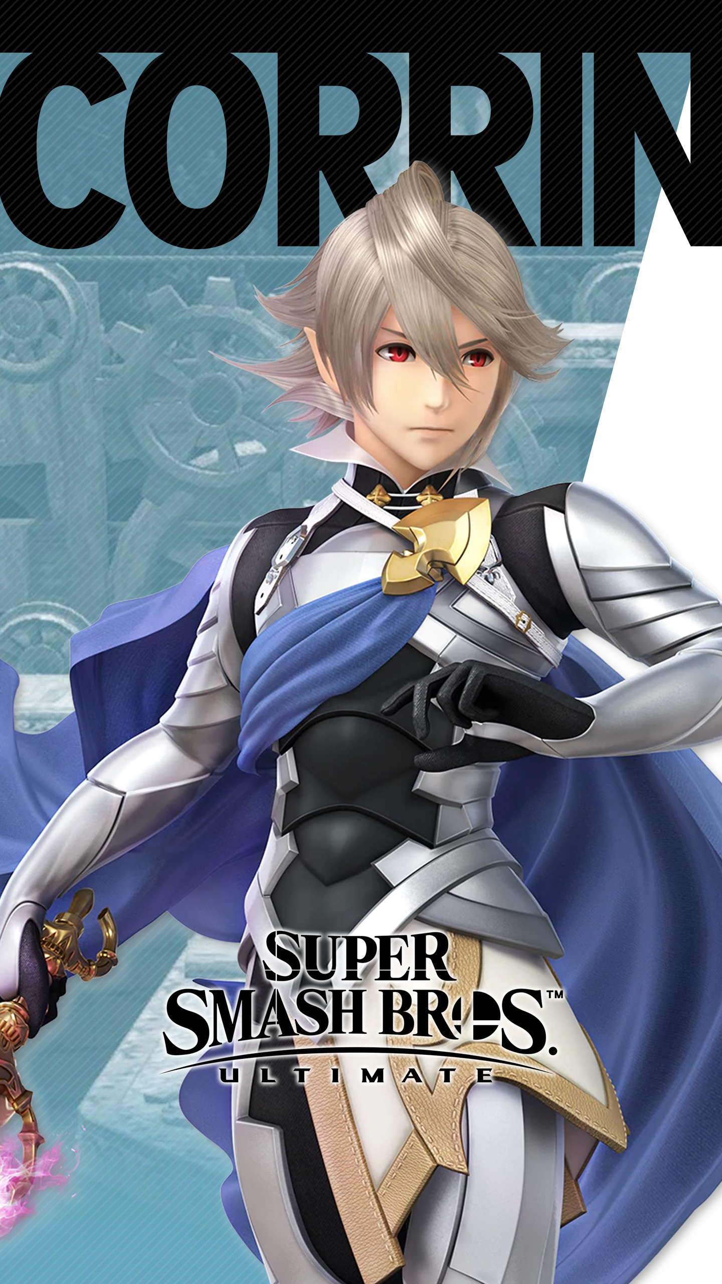 Super Smash Bros Ultimate Corrin Wallpapers Cat With Monocle