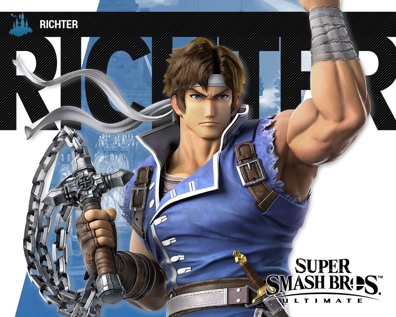 Super Smash Bros Ultimate Richter Wallpapers Cat With