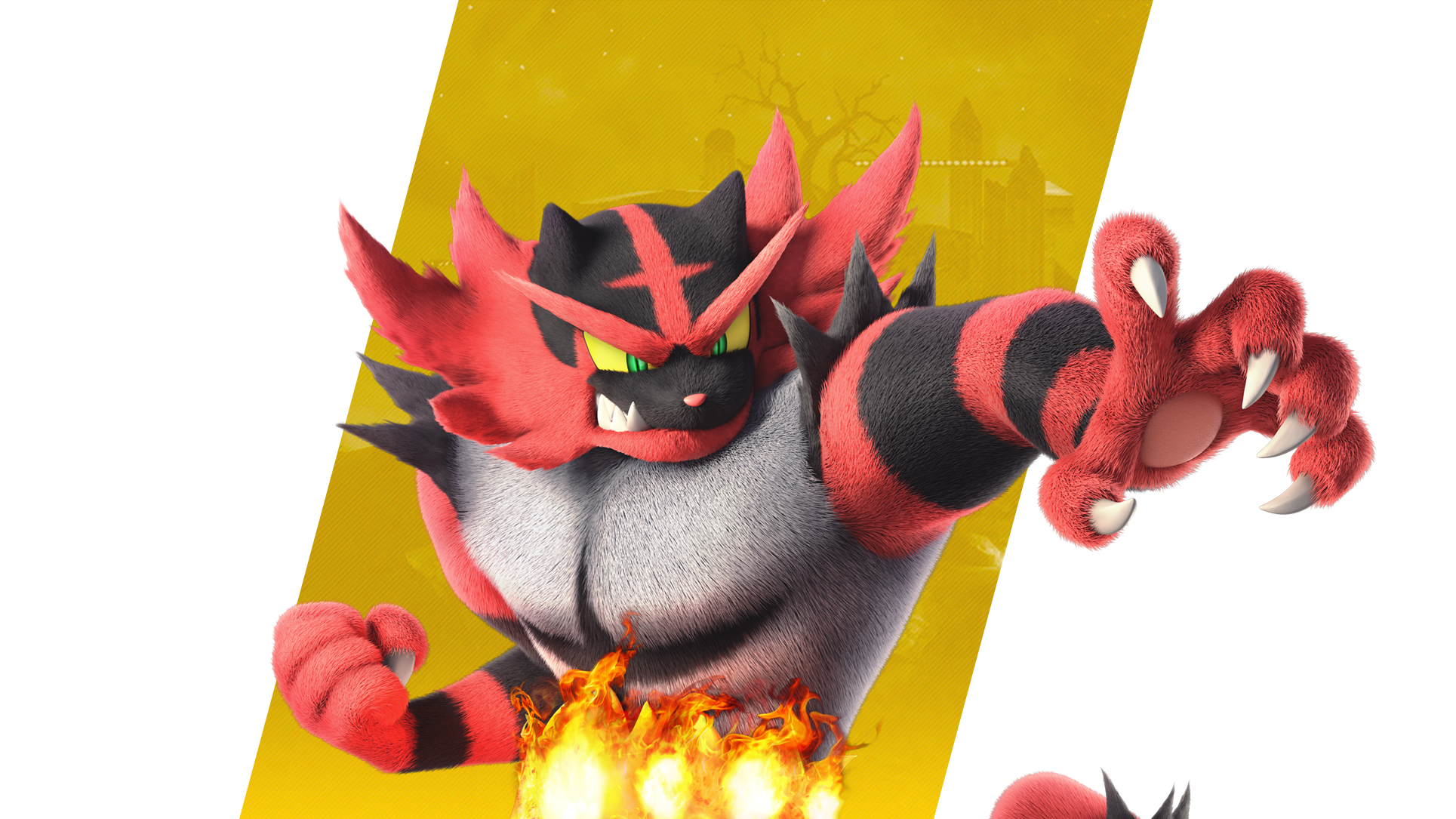 Super Smash Bros Ultimate Incineroar Wallpapers Cat With