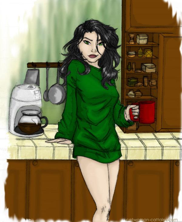 Selina Kyle: Morning Handsome