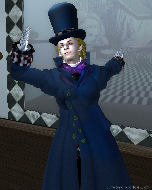 Character portrait of Jervis Tetch, the Mad Hatter