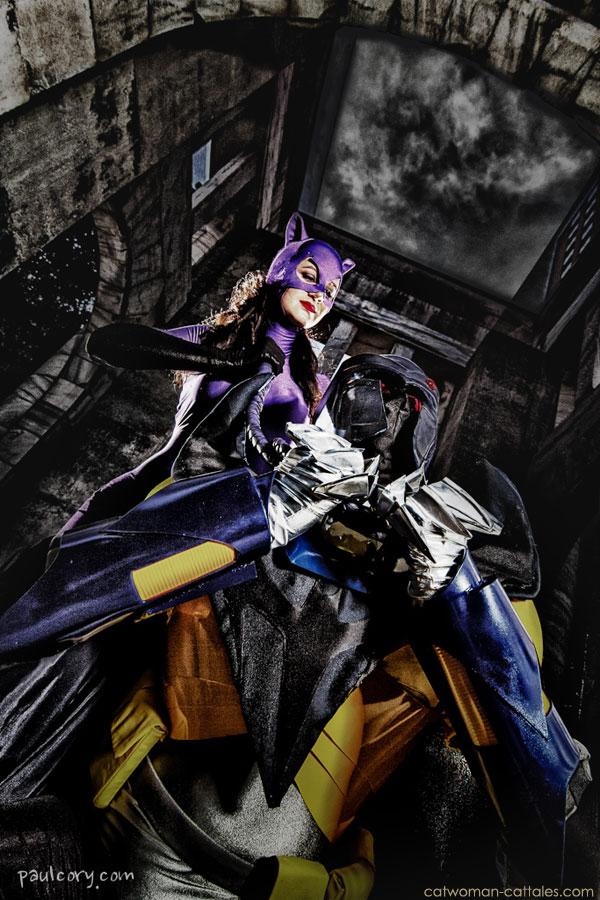 Catwoman vs Azrael