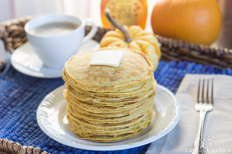 Amish Pumpkin Pancakes