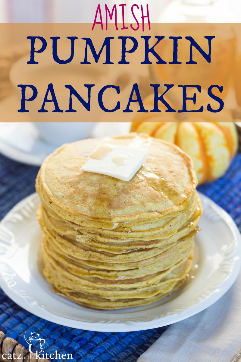 Amish Pumpkin Pancakes