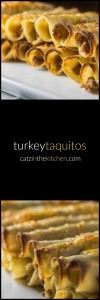Turkey Taquitos | Catz in the Kitchen | catzinthekitchen.com | #taquitos #turkey #Mexican