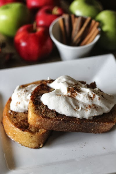 apple spice french toast