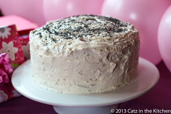 almond poppy seed cake recipe