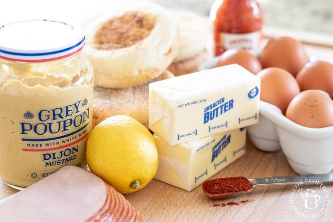 Eggs Benedict Ingredients