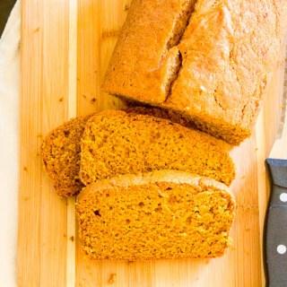 Pumpkin Bread | Catz in the Kitchen | catzinthekitchen.com | #bread #fall #pumpkin