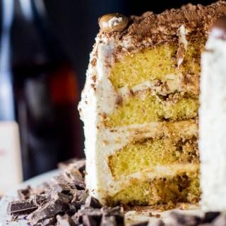 Tiramisu Cake | Catz in the Kitchen | catzinthekitchen.com | #tiramisu #cake #chocolate