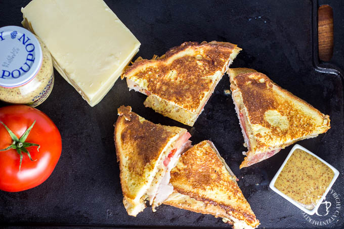 Monte Cristo Club | Catz in the Kitchen | catzinthekitchen.com | #montecristo #sandwich #club #recipe