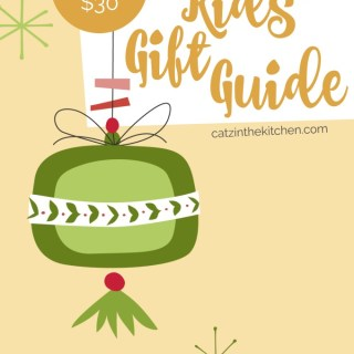 Under $30 Non-Toy Kids' Gift Guide | Catz in the Kitchen | catzinthekitchen.com | #giftguide