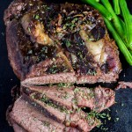 Fancy roasts in Dutch ovens served with wine and music by candlelight are great...but sometimes you just need to get a decent meal on the table! This 3 ingredient roast is that meal, and this busy mom loves it!