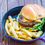 Got that craving for a burger, but the weather outside is not conducive to grilling? Make this indoor classic cheeseburger and free yourself from the climate's control of your burger fix!