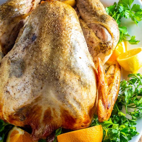 Citrus & Garlic Turkey