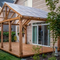DIY Roof for Covered Deck