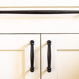 DIY: Painting our Kitchen Cabinets with White Milk Paint