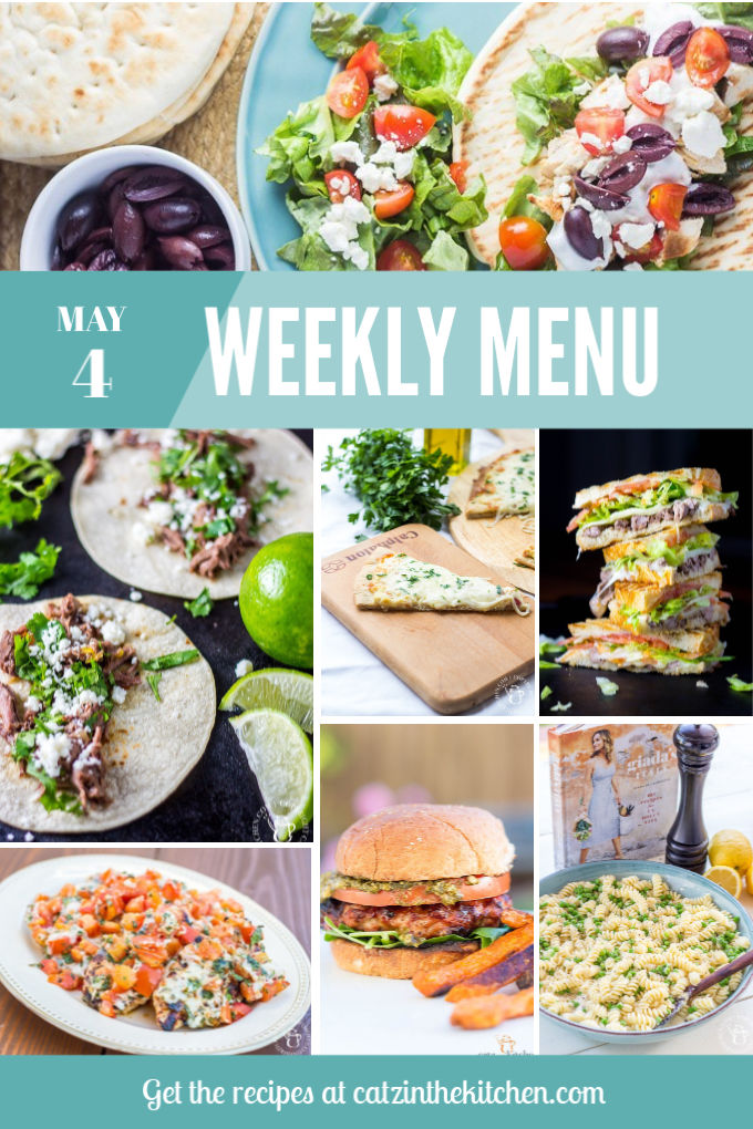 Weekly Menu for the Week of May 4