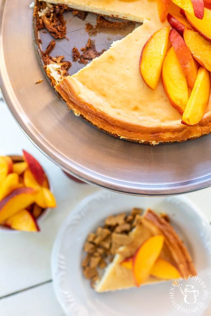 peach cheesecake recipe