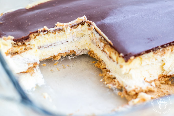 If you haven't added this incredibly popular and easy no-bake dessert to your family's repertoire, now's the time to make some Eclair Cake!