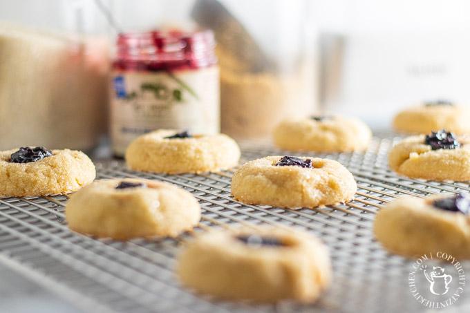Thumbprint Cookies baking