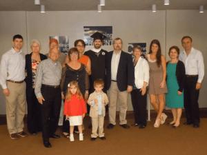 Caudill Family for Caleb's Graduation Catholic University of America, Washington DC