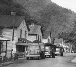 Wayland, KY Coal Camp Houses