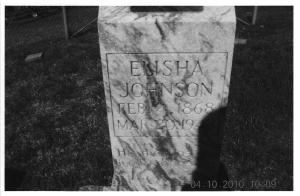 Elisha Johnson Grave KY