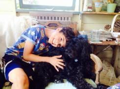Boy and dog Anna Sales 3