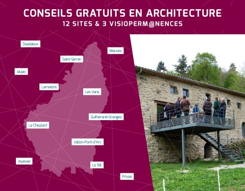 Calendrier des permanences architecturales<br><p class=