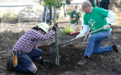 Comcast Cares Day in Santa Rosa