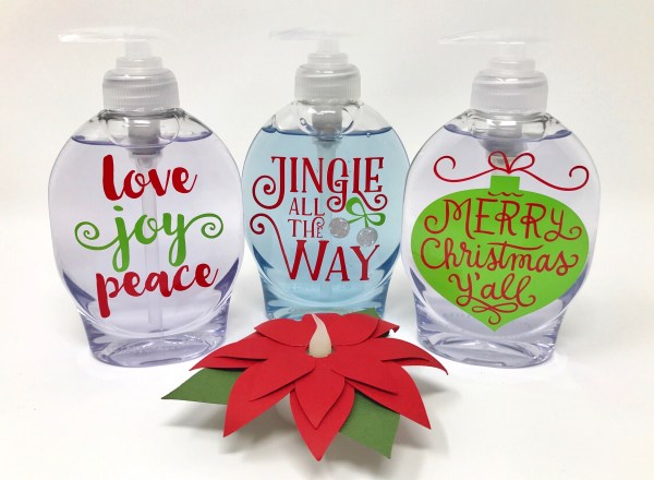 Holiday Soap Dispensers