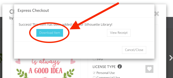 Silhouette Design Store, Express Checkout, Credit Boost, Design Store Subscriptions, Silhouette Design Store Subscription
