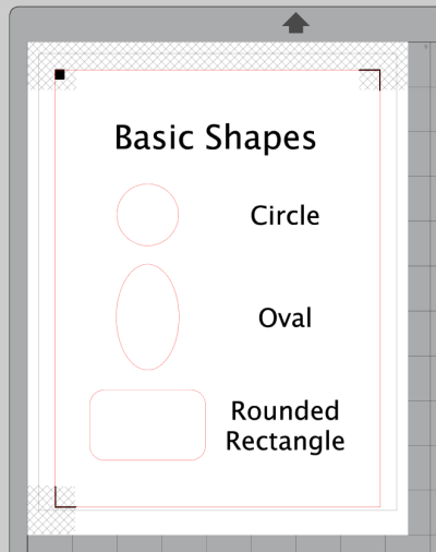 Silhouette Studio Basic Drawing Shapes