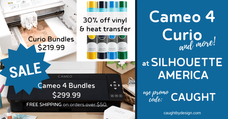 Cameo 4, Curio (and more!) on sale at Silhouette America