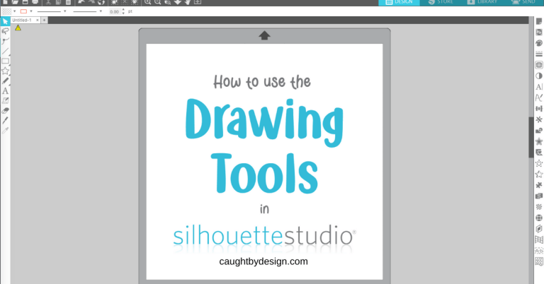 How to Use the Drawing Tools in Silhouette Studio