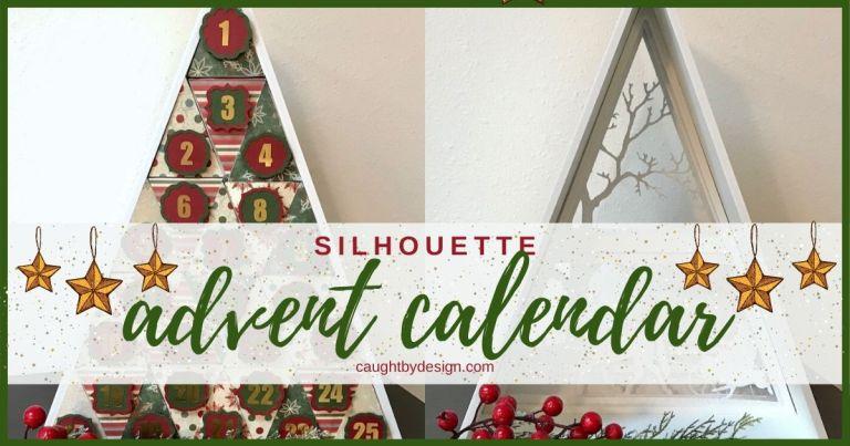 DIY Silhouette Advent Calendar (Christmas in July!)