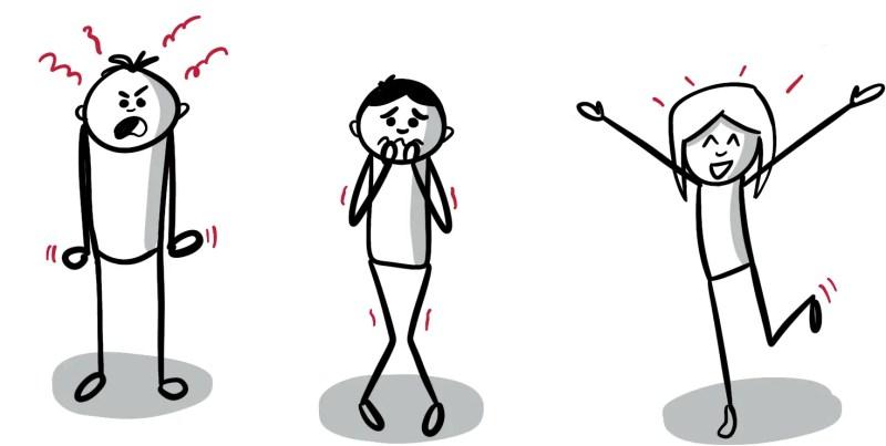 La posture associée à l'émotion