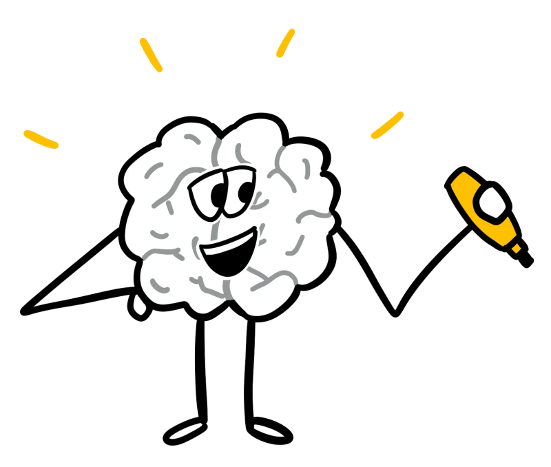 Cerveau qui dessine