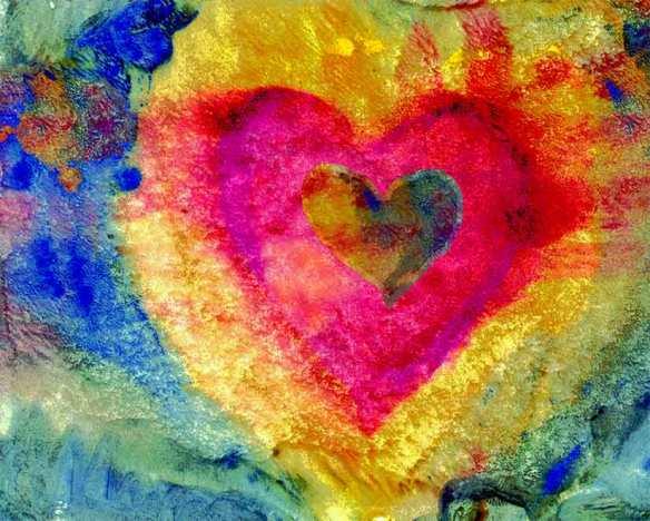 heart art, follow your dream