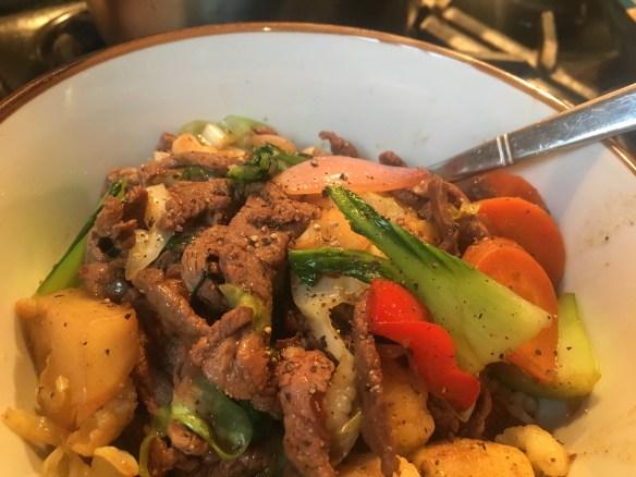 pepper beef