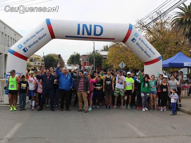 En Cauquenes se realizó la corrida aniversario 275