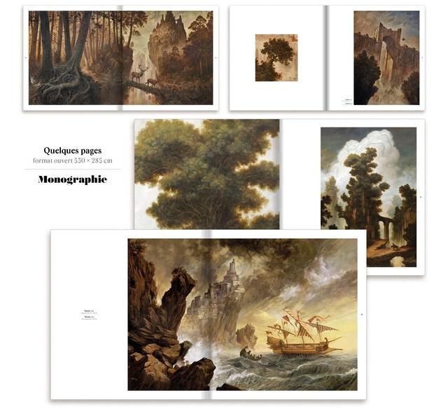 DELVAL Julien - Monographie - Pages intérieures : forêts et océans, grands payasages épiques